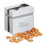 Honey Roasted Cashews in Elegant Treats Gift Box