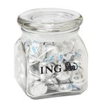 Contemporary Glass Jar - Hershey's? Kisses? (10 oz.)