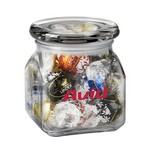 Contemporary Glass Jar - LindtTruffles (10 oz.)