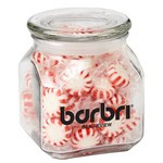 Contemporary Glass Jar - Starlight Mints (20 oz.)