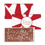 3.5 oz Executive Custom Chocolate Bar with Peppermint