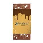 3.5 oz Custom Chocolate Bar with S'mores