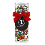 Elegant Gift Tube with Chocolate Covered Sunflower Seeds