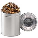 Gourmet Popcorn Tin (Quart) - White & Dark Chocolate Swirl Popcor
