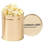 Gourmet Popcorn Tin (Quart) - Kettle Corn