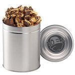 Gourmet Popcorn Tin (Quart) - Peanut Butter Cup Popcorn