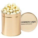 Gourmet Popcorn Tin (Quart) - White Cheddar Popcorn
