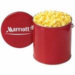 Gallon Popcorn Tins - Classic Delight