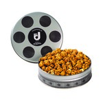 Small Film Reel Tin - Caramel Popcorn