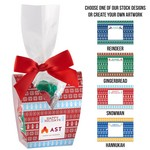 Ugly Sweater Desk Drop with Hershey's Holiday Kisses