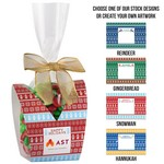 Ugly Sweater Desk Drop with Holiday M&M's