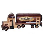 Oil Tanker Wooden Collectible Deluxe Mixed Nuts (No Peanuts)