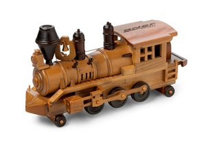 Train Engine filled with Praline Pecans 