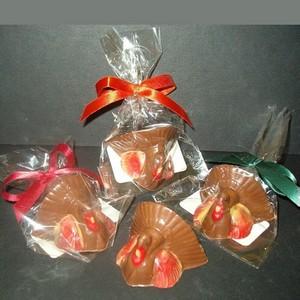 Mini Chocolate Turkey - Thanksgiving Favor