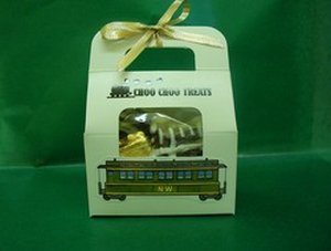 Chocolate Choo-Choo Train Tote