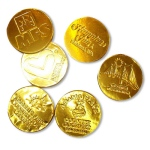 Chocolate Foiled Coins - Low Minimum