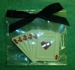 Chocolate Deck of Cards Party Favor