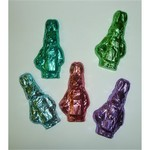 Chocolate Mrs. Bunny Foiled In Assorted Colors