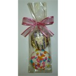 Chocolate Covered Sandwhich Cookies with Easter Confetti 2-Pack