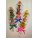 Gummy Kabob - Candy Gummies and Gumdrops on a Stick with A Bow
