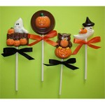 Halloween Chocolate Mini Pops - Set of 4