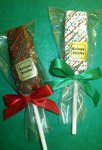 Krispy Sticks Holiday Party Favor