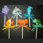 Sea Critter Chocolate Mini Pops
