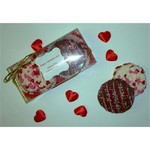 Valentines Chocolate Dipped Fancy Cookie 2 Pack