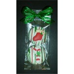 Christmas Chocolate Dipped Sandwich Cookie 2-Pack