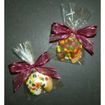 Autumn Leaf Decorated Fortune Cookies