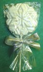 White Chocolate Snowflake Pop