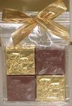 Chocolate Thank You Squares
