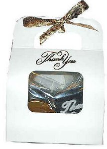Chocolate Thank You Tote Party Favor
