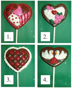 Valentines Day Assorted Heart Pops