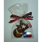 Texas Trio Western Theme Chocolate Favors