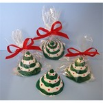 Mini 3D Chocolate Christmas Trees