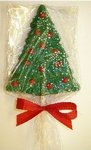 Chocolate Holiday Tree Hand Painted Pop -XL