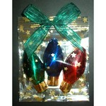 Chocolate Foiled Tree Lights - 3 Pack
