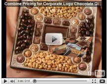 Combine Pricing for Corporate Logo Chocolate Gifts Video