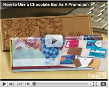 How to Use a Chocolate Bar As A Promotion Video