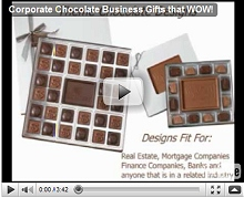Corporate Chocolate Business Gifts that WOW! Video