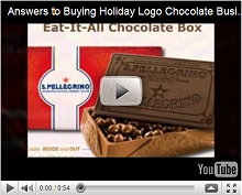 Answers to Buying Holiday Logo Chocolate Business Food Gifts Video