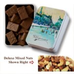 Keepsake Tin Filled with Non-Melt Deluxe Mixed Nuts