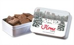 Keepsake Tin Filled with English Butter Toffee