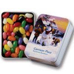 Keepsake Tin Filled with Assorted Jelly Beans