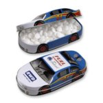 Race Car Tin Filled with Jelly Belly (R) Jelly Beans