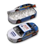 Race Car Tin Filled with Jelly Beans