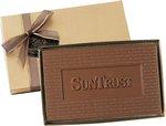 Cutout Shape Custom Logo Molded Chocolate 8 oz.