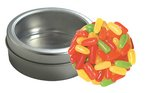 Mike & Ike's? Candy in Top-View Window Tin with Custom Imprint