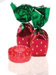 Individually Wrapped Strawberry Delight Candy - No Imprint